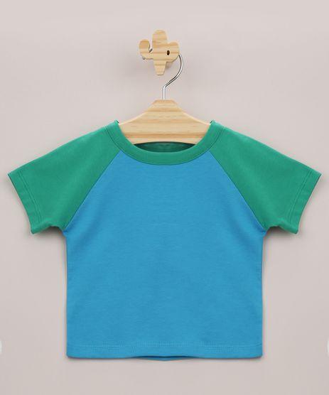 Camiseta-Infantil-Raglan-Manga-Curta-Verde-9962828-Verde_1