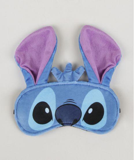 Mascara-de-Dormir-Stitch-Estampado-Azul-9962983-Azul_1