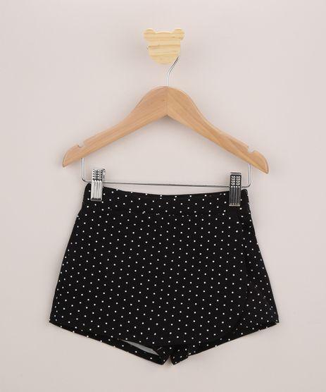 Short-Saia-Infantil-Envelope-Estampado-de-Poa-com-Glitter-Preto-9963920-Preto_1