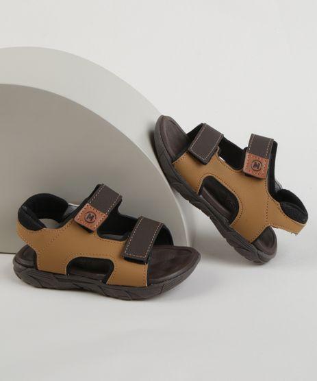 Sandalia-Papete-Infantil-Molekinho-com-Velcro-Caramelo-9965577-Caramelo_1