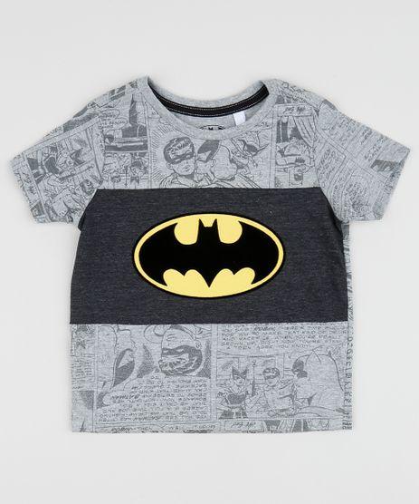 Camiseta-Infantil-Batman-Estampada-com-Recorte-Manga-Curta-Cinza-Mescla-Claro-9961965-Cinza_Mescla_Claro_1