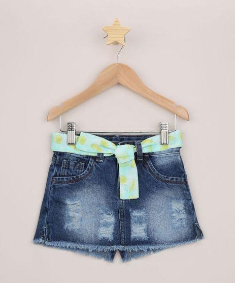 Short-Saia-Jeans-Infantil-Destroyed-com-Faixa-para-Amarrar-Azul-Medio-9958620-Azul_Medio_1
