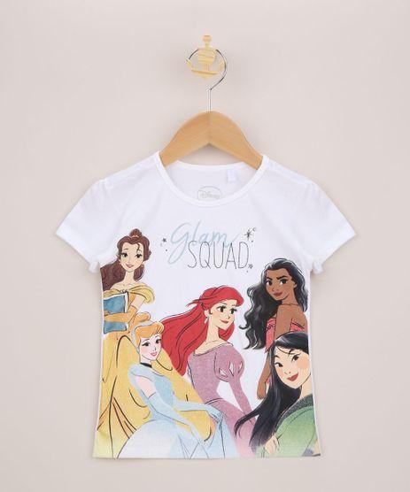 Blusa-Infantil-Princesas-com-Brilho-Manga-Curta-Off-White-9963318-Off_White_1