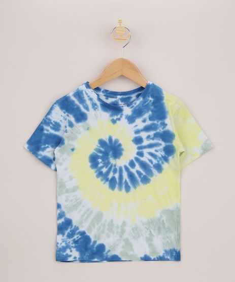 Camiseta-Infantil-Estampada-Tie-Dye-Manga-Curta-Multicor-9962238-Multicor_1