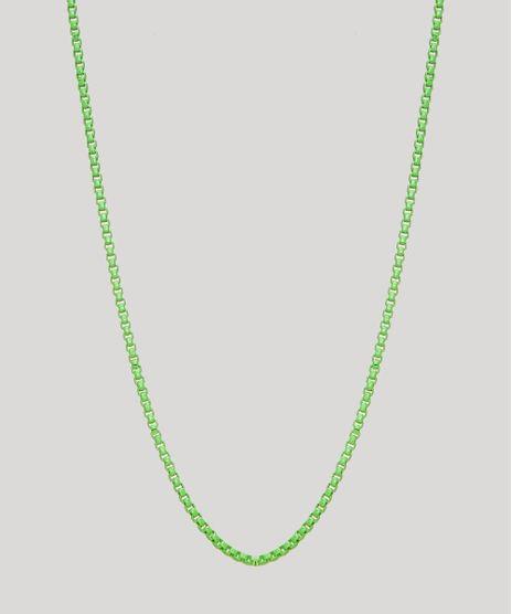 Colar-Feminino-Corrente-Delicado-Verde-9965889-Verde_1