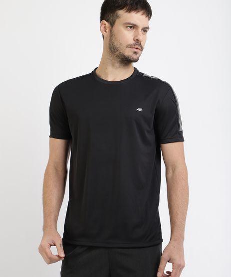 Camiseta-Masculina-Esportiva-Ace-com-Recorte-Manga-Curta-Gola-Careca-Preta-9946914-Preto_1