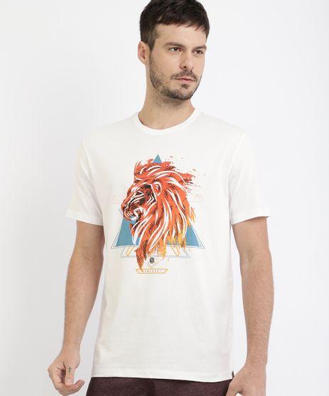 Camiseta-Masculina-Leao-Manga-Curta-Gola-Careca-Branca-9967857-Branco_1