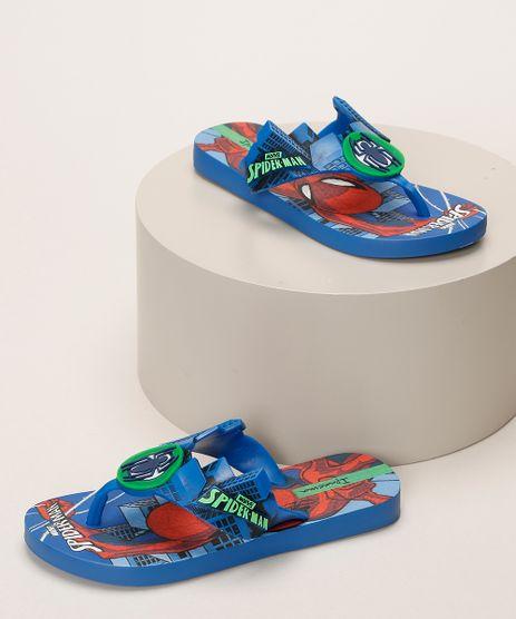 Chinelo-Infantil-Ipanema-Homem-Aranha-Azul-9963782-Azul_1