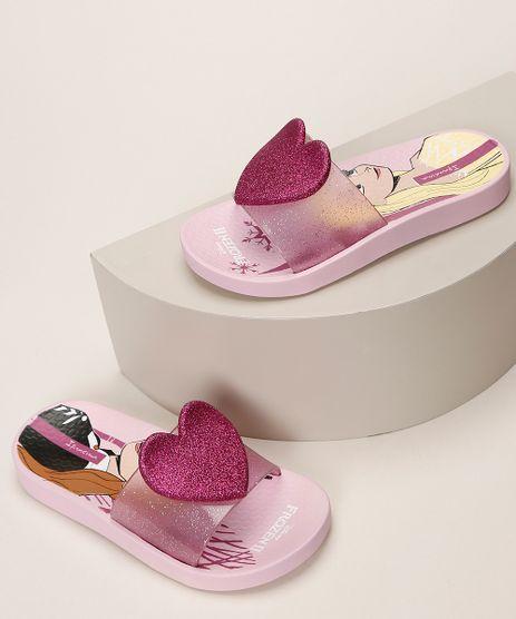 Chinelo-Infantil-Ipanema-Slide-Frozen-com-Coracao-e-Glitter-Rosa-9963784-Rosa_1