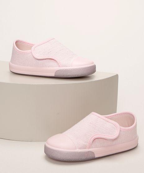 Tenis-Infantil-Pimpolho-com-Glitter-e-Velcro-Rosa-Claro-9966085-Rosa_Claro_1