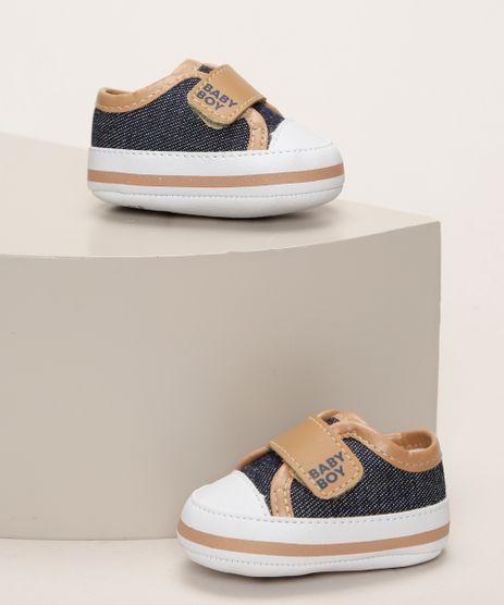 Tenis-Infantil-Pimpolho-Jeans-com-Tira-e-Velcro-Azul-Escuro-9966095-Azul_Escuro_1