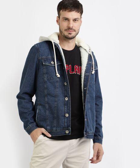 Jaqueta-Jeans-Masculina-Trucker-com-Capuz-e-Pelo-Azul-Escuro-9955891-Azul_Escuro_1