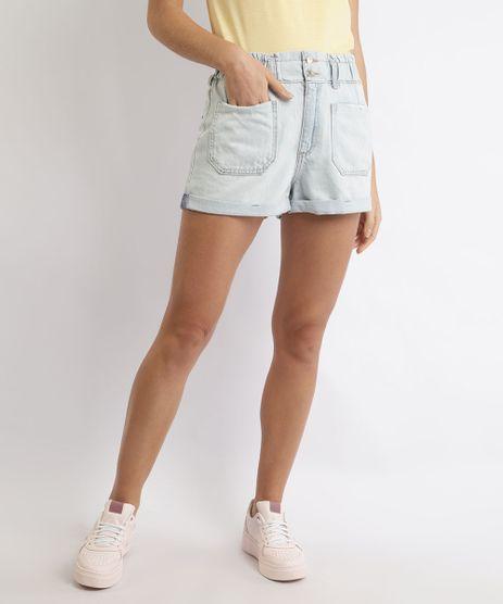 Short-Jeans-Feminino-Mom-Cintura-Super-Alta-Barra-Dobrada-Azul-Claro-9964106-Azul_Claro_1