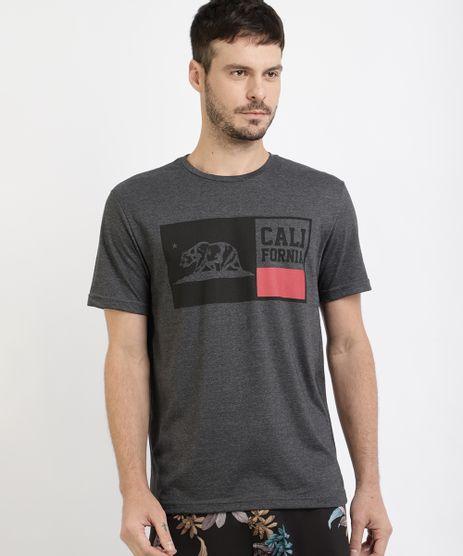 Camiseta-Masculina--California--Manga-Curta-Gola-Careca-Cinza-Mescla-Escuro-9960802-Cinza_Mescla_Escuro_1