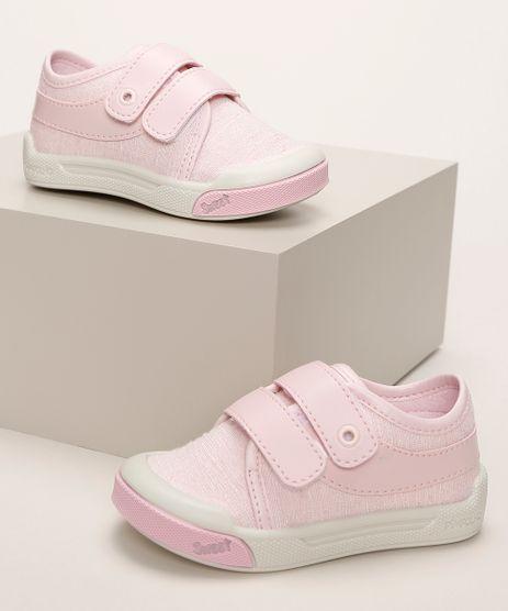 Tenis-Infantil-Pimpolho-com-Recortes-e-Velcro-Rosa-9966084-Rosa_1