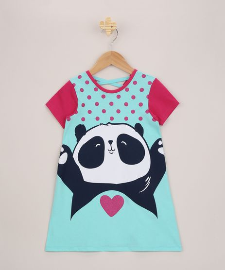 Camisola-Infantil-Panda-Manga-Curta-Azul-9956715-Azul_1