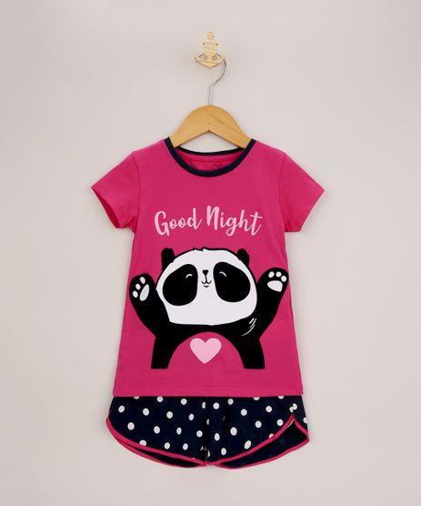 Pijama-Infantil-Panda-Estampado-Poa-Manga-Curta-Rosa-9956716-Rosa_1