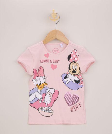 Blusa-Infantil-Minnie-e-Margarida-Manga-Curta-Rosa-9954104-Rosa_1