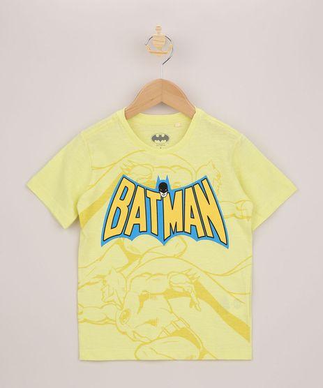Camiseta-Infantil-Batman-Manga-Curta-Amarela-9962550-Amarelo_1