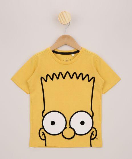 Camiseta-Infantil-Bart-Os-Simpsons-Manga-Curta-Amarela-9955382-Amarelo_1