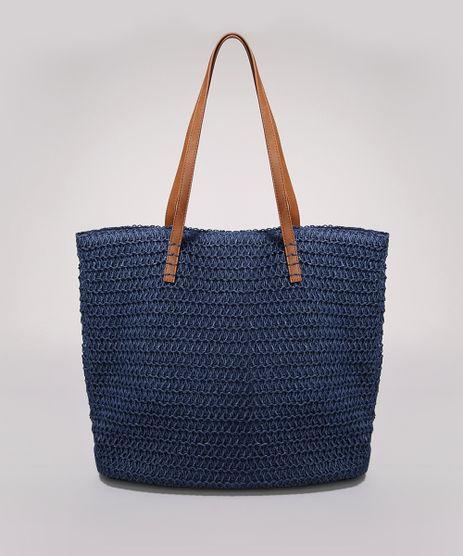 Bolsa-Feminina-Grande-Shopper-em-Palha-Alcas-Duplas-Azul-Marinho-9602448-Azul_Marinho_1