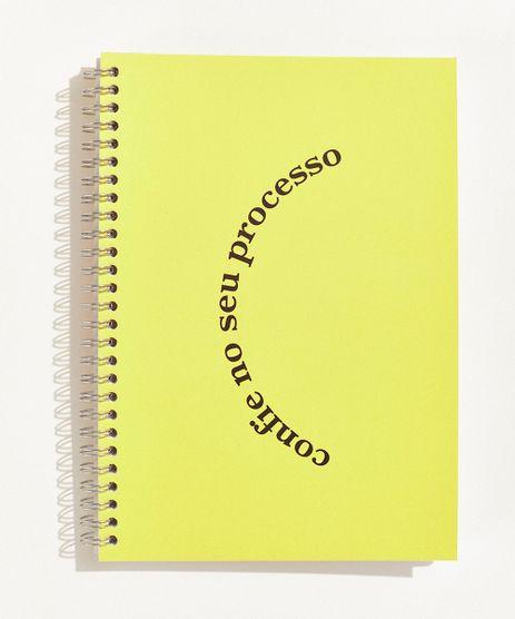 Bloco-Planner-Semanal-Mindset-Obvious--Confie-no-Seu-Processo--com-Espiral-17-cm-x-24-cm-Amarelo-9971137-Amarelo_1