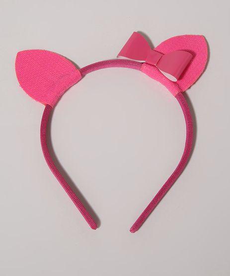 Tiara-Infantil-Gatinha-com-Orelhas-Laco-e-Paete-Pink-9963543-Pink_1