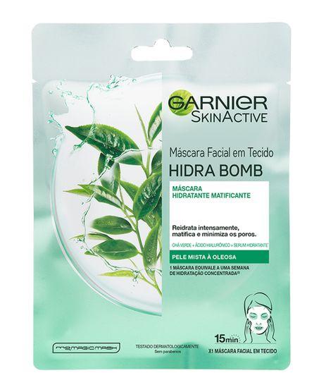 Mascara-Facial-Garnier-SkinActive-Hidratante-em-Tecido-Hidra-Bomb-Cha-Verde---1-Unidade-Unico-9964786-Unico_1