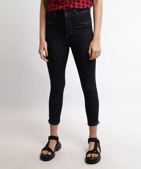 Calca-Jeans-Feminina-Sawary-Cropped-Cintura-Alta-Azul-Escuro-9968441-Azul_Escuro_1