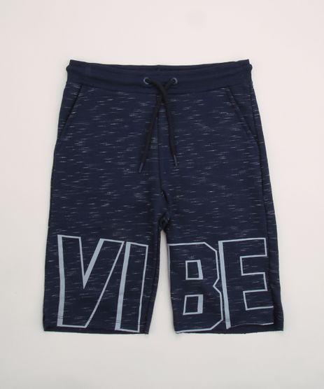 Bermuda-de-Moletom-Juvenil--Vibe--com-Bolsos-Azul-Escuro-9954273-Azul_Escuro_1