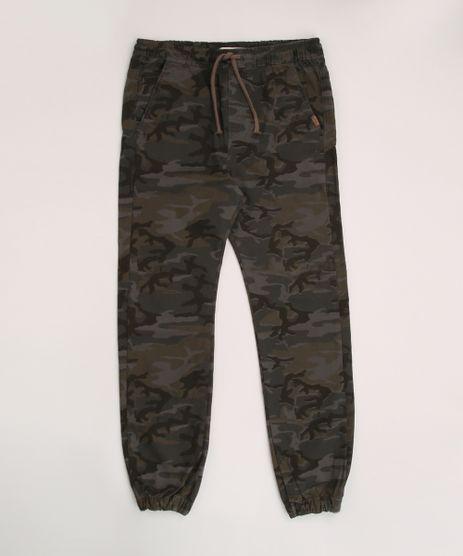Calca-de-Sarja-Juvenil-Jogger-Estampado-Camuflado-Verde-Militar-9953668-Verde_Militar_1