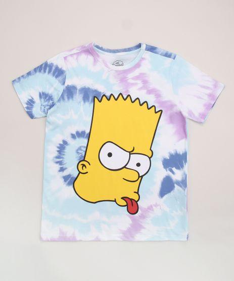 Camiseta-Juvenil-Bart-Os-Simpsons-Estampada-Tie-Dye-Manga-Curta-Multicor-9960446-Multicor_1