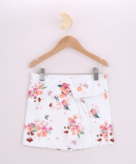Short-Saia-Infantil-Estampado-de-Floral-Off-White-9821433-Off_White_1