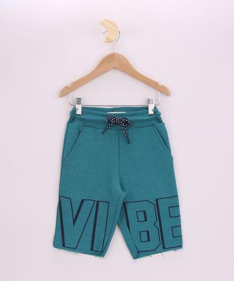 Bermuda-de-Moletom-Infantil--Vibe--com-Bolsos-Verde-9954256-Verde_1