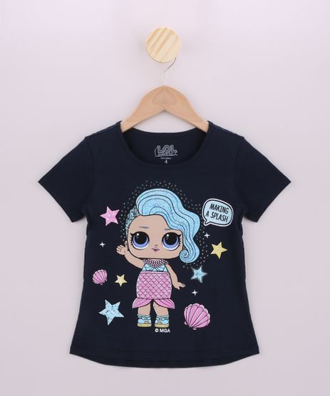 Blusa-Infantil-LOL-Surprise-Sereia-Manga-Curta-Azul-Marinho-9956864-Azul_Marinho_1