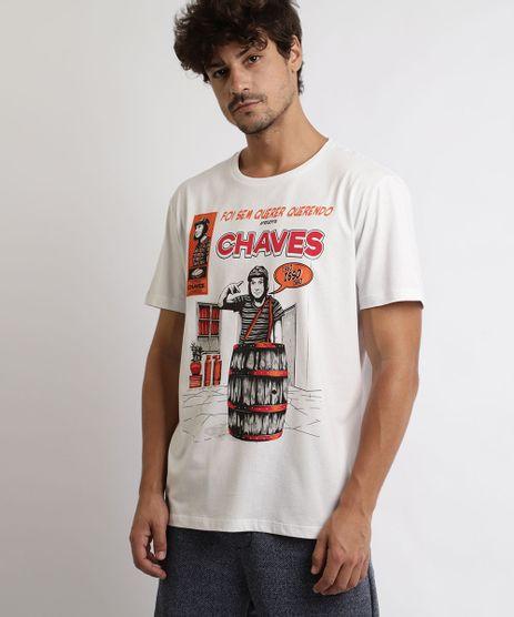 Camiseta-Masculina-Chaves-Manga-Curta-Gola-Careca-Off-White-9963623-Off_White_1