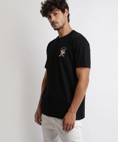 Camiseta-Masculina-Taz-Looney-Tunes-Manga-Curta-Gola-Careca-Preta-9966304-Preto_1