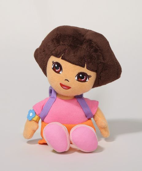 Pelucia-Pequena-Dora-Aventureira-Rosa-Escuro-9961307-Rosa_Escuro_1