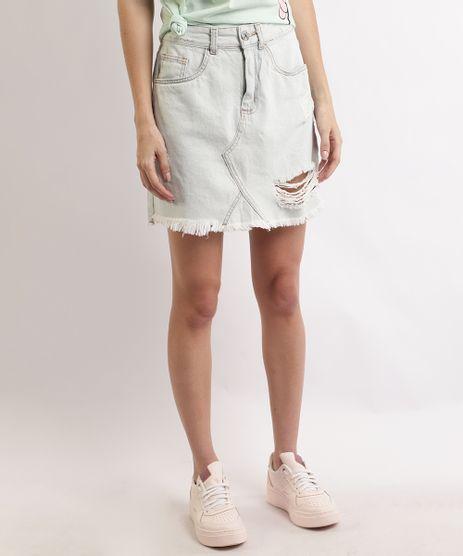 Saia-Jeans-Feminina-Curta-Destroyed-com-Recorte-Azul-Claro-9933895-Azul_Claro_1