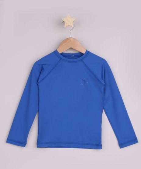 Blusa-de-Praia-Infantil-com-Protecao-UV50--Azul-9957673-Azul_1