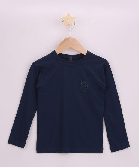 Blusa-de-Praia-Infantil-com-Protecao-UV50--Azul-Marinho-9957704-Azul_Marinho_1