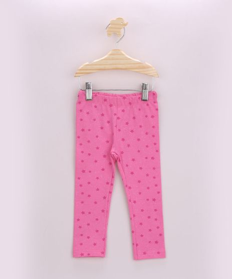Calca-Legging-Infantil-Estampada-de-Estrelas-com-Brilho-Rosa-9953624-Rosa_1