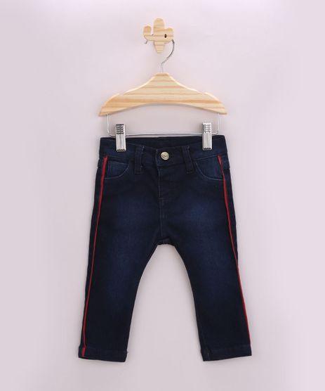Calca-Jeans-Infantil-Reta-com-Faixa-Lateral-Azul-Escuro-9955953-Azul_Escuro_1