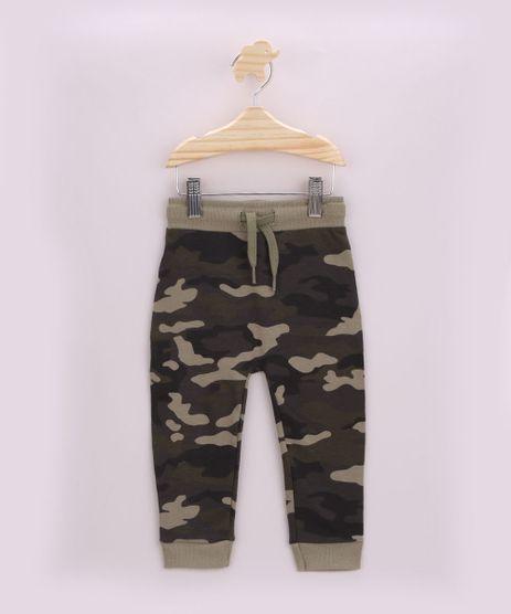 Calca-de-Moletom-Infantil-Estampada-Camuflada-com-Cordao-Verde-Militar-9957236-Verde_Militar_1