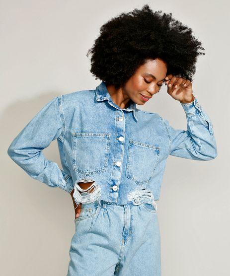 Jaqueta-Jeans-Feminina-Mindset-Cropped-Ampla-Marmorizada-Destroyed-Azul-Claro-9969107-Azul_Claro_1