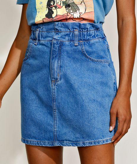 Saia-Jeans-Feminina-Mindset-Curta-Clochard-Azul-Medio-9969106-Azul_Medio_1