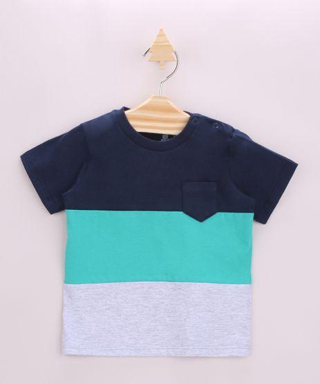 Camiseta-Infantil-com-Recortes-e-Bolso-Manga-Curta-Azul-Marinho-9957230-Azul_Marinho_1