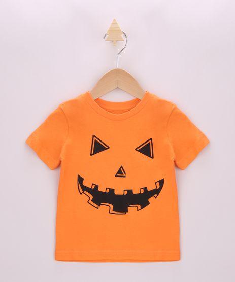 Camiseta-Infantil-Halloween-Abobora-Manga-Curta-Laranja-9963014-Laranja_1