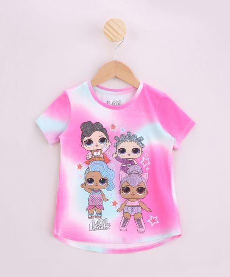 Blusa-Infantil-LOL-Surprise-Estampada-Tie-Dye-Manga-Curta-Rosa-9956882-Rosa_1