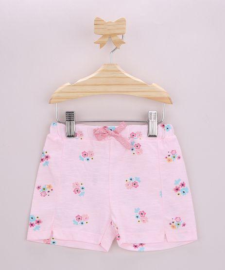 Short-Infantil-Estampado-Floral-com-Cordao-Rosa-Claro-9958878-Rosa_Claro_1